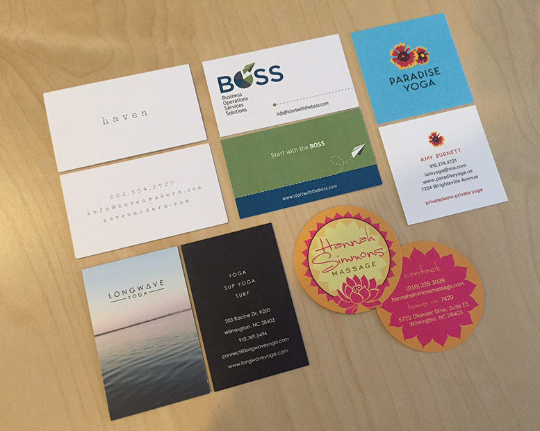The Case for Business Cards | Graphic Design Wilmington NC // b ...