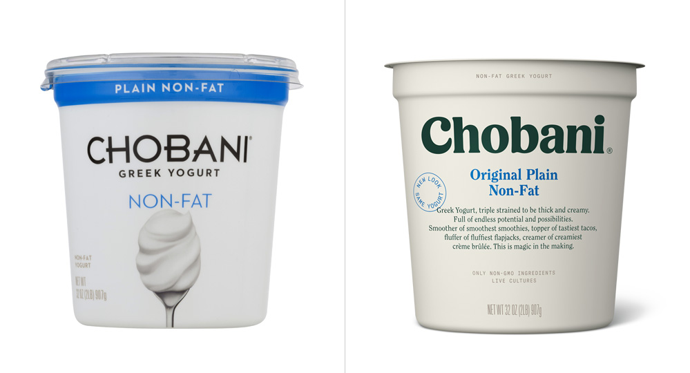 Chobani Packaging