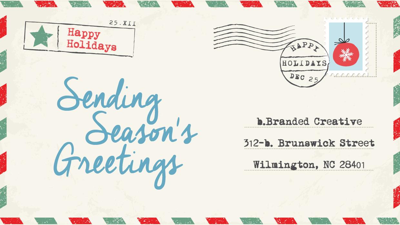 Sending Season's Greetings