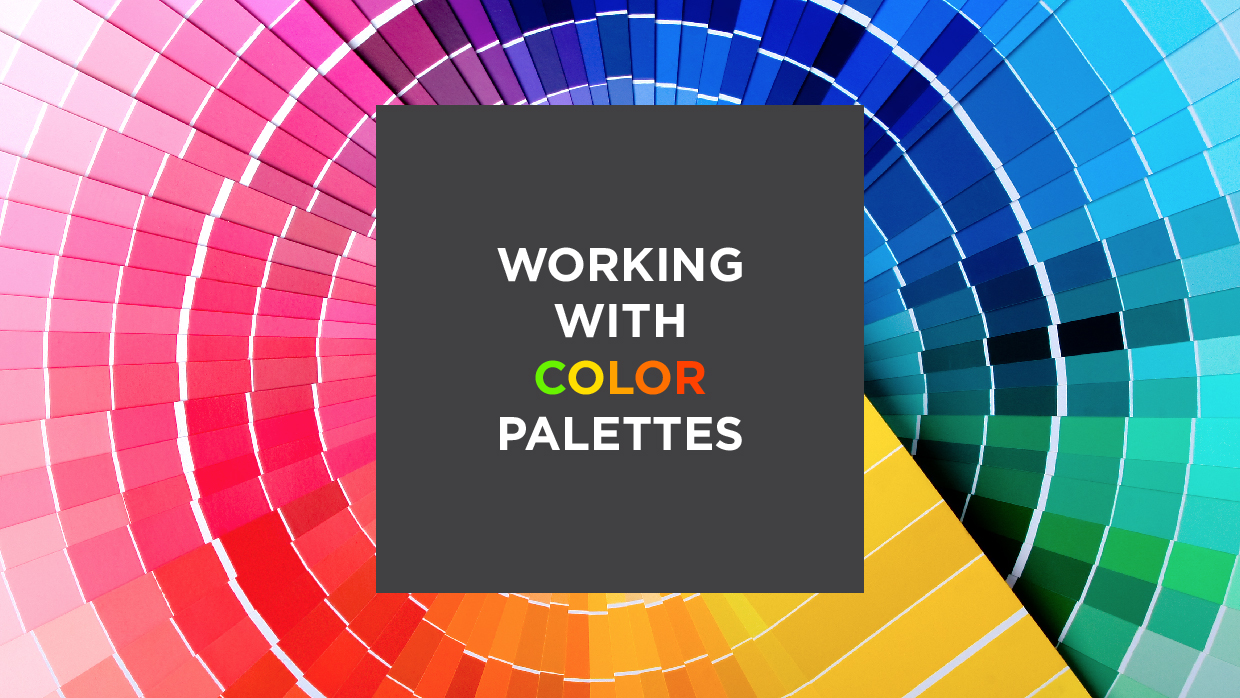 Working with Color Palettes header